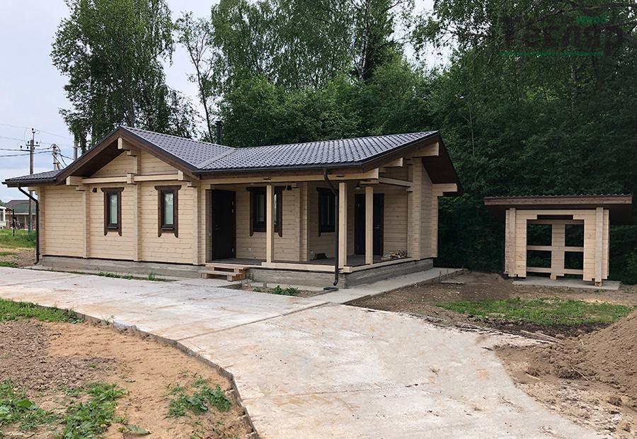Дом/Баня индивидуальный проект