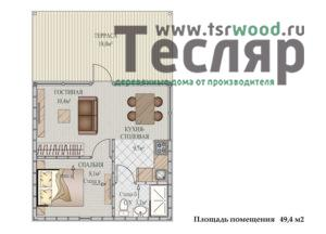 Дом за миллион рублей